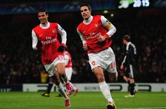 Chamakh wants to fight R.V.P. for a place. Well good luck to ya mate. RVP for life! World Class Striker
