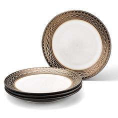 An Avon Exclusive! The Gourmet Basics by Mikasa Luciana Collection a unique twist of · Dinner Plate SetsDinner ...  sc 1 st  Pinterest & Gourmet Basics by Mikasa® Sofia 4-Piece Dinner Plate Set $29.99 169 ...