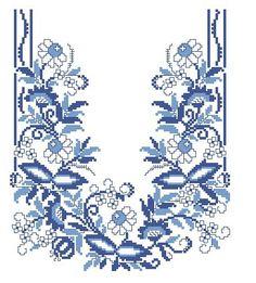 """Photos Informationen zu Photo from album """"мои схемы"""" on - Cross Stitch Bird, Cross Stitch Borders, Cross Stitch Flowers, Cross Stitch Designs, Cross Stitch Patterns, Border Embroidery Designs, Bead Embroidery Patterns, Cross Stitch Embroidery, Hand Embroidery"""