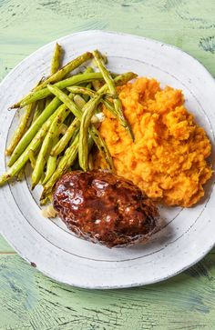 Easy balsamic meatloaf recipe | More comfort food and Valentine's Day dinner recipes on HelloFresh.com