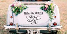 frases coche boda