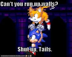Sonic the Hedgehog humor