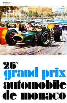 26th Grand Prix Automobile de Monaco.