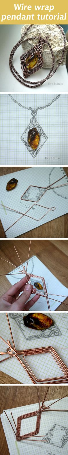 Not so much the pendant, rather the way they set it up using graph paper! Brilliant!