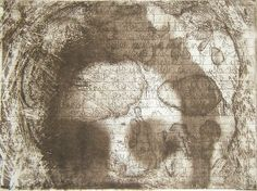emmasm02 - Thoughts 2, Solar Plate Etching