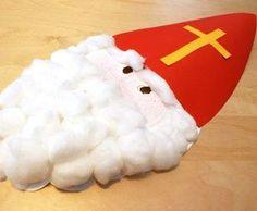 Basteln mit Kindern - Ideen für den Advent: Diese Bastelanleitung ist ideal für Kinder, die sich durch lustige Verkleidunsgspiele die Wartezeit auf den Nikolaus-Tag Abend verkürzen wollen.