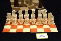Chess Set origami