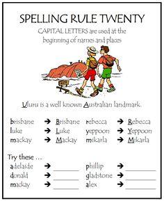 kiddslearningspace - Spelling Phonics Rules, Spelling Rules, Spelling Practice, Spelling Activities, Spelling And Grammar, Teaching Grammar, Grammar And Vocabulary, English Vocabulary, English Language Learning