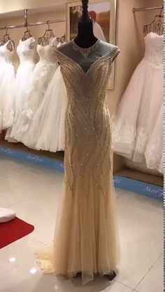 At Diadem, we do not design clothes, we design dreams . Mesmerizing Gold Mermaid gown designed and made at Diadem! #diadem #fairladydesigner #redpeppersale #weddinggowns #partygowns #kidsgowns #shinycinderella #fashionexpert