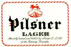 Allsopp's White Cap Lager Beer Kenya Label