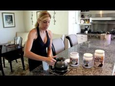 Jay Robb Protein Powder in Coffee! Dr. Lori shows YOU how!