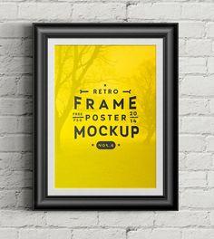 20 Mockups de Poster • Free|38