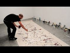 How to paint like Jackson Pollock – One: Number 31, 1950 (1950) | IN THE STUDIO - YouTube