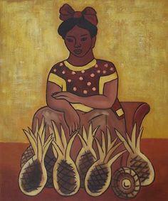 dieago rivera art | Home > Paintings > diego rivera paintings > diego rivera vendedora de ...