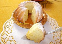 Narancsos kuglóf | Fehér Katica receptje - Cookpad receptek Savarin, Hungarian Recipes, Bagel, Fudge, Doughnut, Muffin, Sweets, Bread, Cookies
