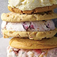 No custard is needed to make this easy Blueberry-Cheesecake Ice Cream. Try Blueberry-Cheesecake Ice Cream in cookie sandwiches or irresistible pies.