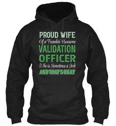 Validation Officer #ValidationOfficer