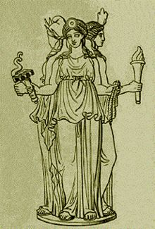 HECATE - GREEK GODDESS OF THE CROSSROADS.