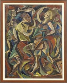 """Charles Malcolm Campbell, """"Jam"""", 1945, oil on canvas"""