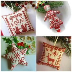 Nordic inspired Christmas decorations