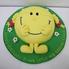 Little Miss Sunshine Cake St Birthday Idea St Birthday - Little miss birthday cake