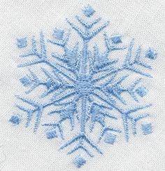 38 Christmas Free Designs - Ellen has downloaded Snowflakes 1, 2, 3, 4 (shown on bread basket liner)