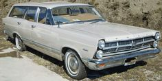 The Ford Fairlane was an automobile model sold between 1955 and 1970 by the Ford Motor Company in North America. The name was taken from Henry Ford's estate, Fair Lane, near Dearborn, Michigan