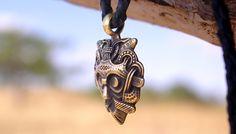 Odin's mask amulet