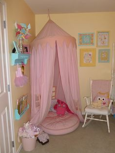 i need to make an area like this for the kids to read