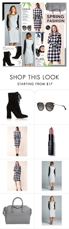 """""""Street Style - Gozon 29"""" by anyasdesigns ❤ liked on Polyvore featuring Gianvito Rossi, Anna-Karin Karlsson, Bobbi Brown Cosmetics and Givenchy"""