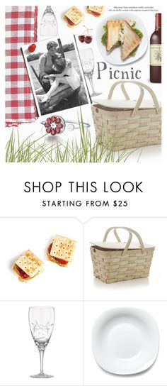 """Spring Picnic"" by totwoo ❤ liked on Polyvore featuring interior, interiors, interior design, home, home decor, interior decorating, Lenox, Bormioli Rocco, Pier 1 Imports and Pull&Bear"