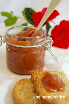 High Protein Vegetables, Chilean Recipes, Cooking Recipes, Healthy Recipes, Healthy Food, Jam And Jelly, Sweet Sauce, Sugar Free Recipes, Cranberry Sauce