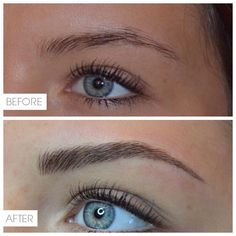 What a difference Microblading can make!  #permanentmakeup #eyebrows #makeup #eyebrowsonfleek #zoemilan #microblading #threading
