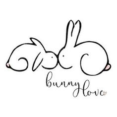 This text isn't accessible, SVG – Bunny Love – Digital Vector Obtain Bunny Love SVG is a wonderful hand drawn piece particu, Monogramm Alphabet, Bunny Love, Bunny Tattoos, Rabbit Tattoos, New Baby Announcements, Announcement Cards, Bunny Art, Bunny Drawing, Art Et Illustration