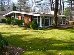 mid-century modern homes - Yahoo Image Search Results
