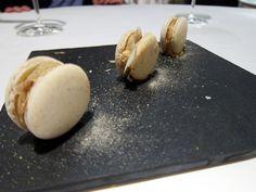 Osteria Francescana - truffled macarons