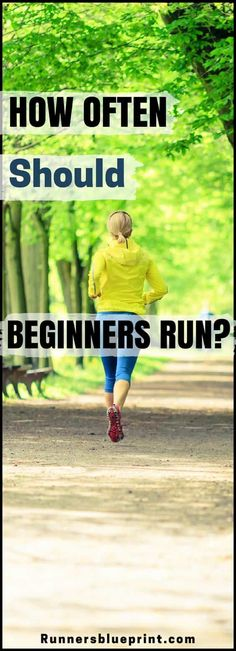 So, how often should you run? If you're a beginner runner and/or are looking to increase your training intensity, you might wonder how often you should run.   #beginner #runner #mileage