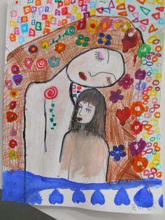 "Kindergarten Art Class: î— î""î™îŸî¡î¤î— î¤î—î£ îœî—î¤î•î¡î'î£ Greek Paintings, Mother's Day Activities, Klimt, 10 Picture, Kindergarten Art, My Images, Kids Rugs, Cards, Blog"