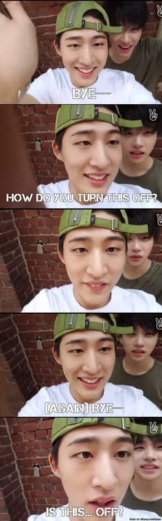 awe cute stupid hanbin dont know how to turn off a camera lol Kim Hanbin Ikon, Ikon Kpop, K Pop, Bobby, Kdrama Memes, Meme Center, I Still Love You, Fandom, Yg Entertainment
