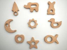 hardwood teething toys for baby