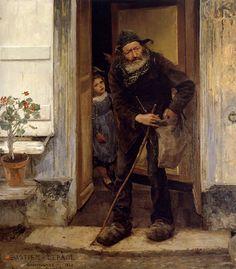 Jules Bastien-Lepage (Jules Bastien Lepage) (1848-1884) Le Mendiant