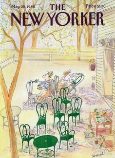 The New Yorker, 1985 © Sempé