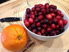 Say YES to Homemade Cranberry Sauce and NO to the canned jelly - My Earth Garden (Michael Nolan) Cranberry Relish, Good Food, Yummy Food, Spice Mixes, Simple Pleasures, Jelly, Food And Drink, Spices, Earth