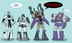 TF: G1 Meets Animated by TheMinttu.deviantart.com on @deviantART. The reactions of both Blitzwings cracked me up! xD