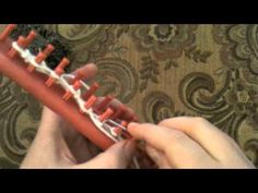 How to Loom Knit the Seed Stitch