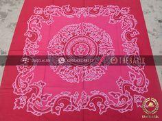Kain Batik Wall Hanging Megamendung Pink   #Indonesia Traditional #Batik Tulis #Design. Hand-dyed and HandDrawn Process http://thebatik.co.id/kain-batik-bahan/batik-tulis/
