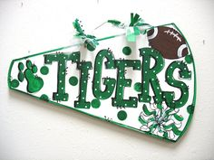 Megaphone Cheer Wall Decor by TWOPINKDOTS on Etsy, $18.00