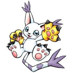 Gatomon Digimon Adventure | Gatomon (Adventure) - Digimon Wiki - Polyvore