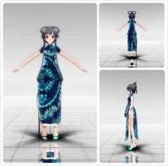 DL+[MMD]Tda China Dress Luo Tianyi(Over) by kooooi.deviantart.com on @deviantART