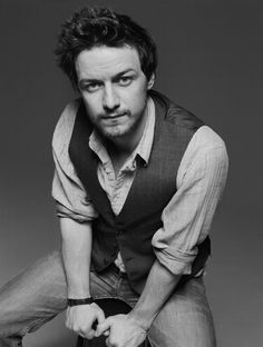 I make book collages while I'm writing and use images to help me picture/pin-down characters (especially in the early drafts). James Macavoy was my inspiration for Max.